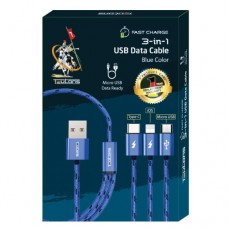 Teutons 3 in 1 USB Cable