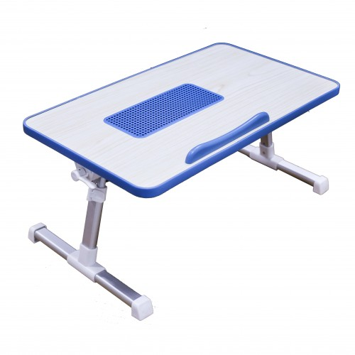Portable laptop cooling desk