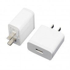 Xiaomi MI 3A 1 Port USB 2 Pin Charging Adapter White
