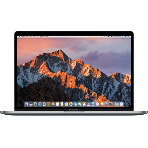 Apple MacBook Pro 15-inch Retina Display with Touch Bar, Core i7, 16GB Ram, 256GB SSD, Dedicated Graphics, Space Gray MPTR2LL/A (2017)