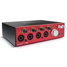 Focusrite Clarett 4Pre 18-In, 8-Out Thunderbolt Audio Interface