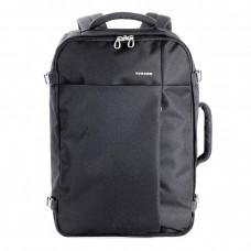 "Tucano Tugo BKTUG-L-BK 17.3"" Cabin Luggage Travel or Laptop Large Backpack Black"