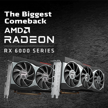 The Biggest Comeback for AMD with the 6000 Series Graphics Card