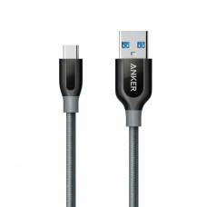 Anker PowerLine+ USB C to USB 3.0 Double-Braided Nylon Cable (A8168)