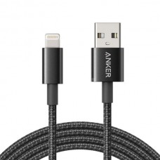 Anker Premium Double-Braided Nylon MFI 3.3 Feet Lightning Cable (A8152)