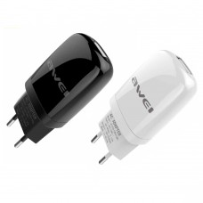Awei C-821 Universal Usb Quick Travel Charging Adapter (2 pin)