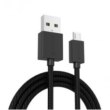 Orico 3A Nylon Braided USB A to Micro B Charge and Sync Cable 1 Meter