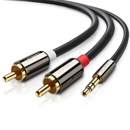 Ugreen 5 Meter 10591 3.5mm Male to 2RCA Male Audio Cable