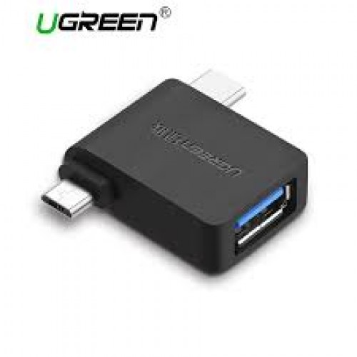 Micro USB+ USB-C to USB 3.0 Adapter