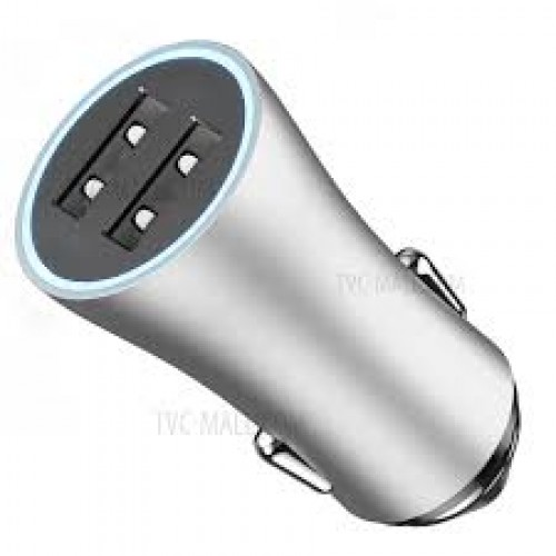 UGREEN 3 USB port Car Charger 1A+2*2.4A-Silver