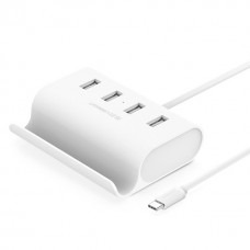 Ugreen USB-C to 4-Ports USB 2.0 HUB White 0.5M