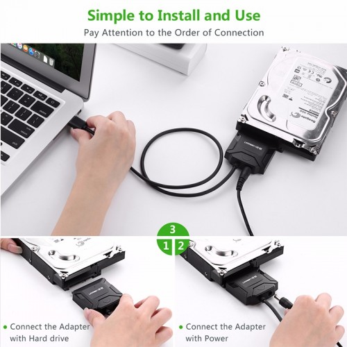 Ugreen USB 2.0 to SATA Hard Drive converter cable