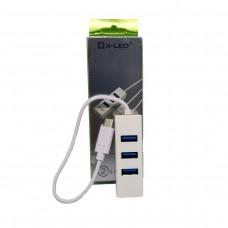 X-LEO XL-5010 TYPE-C TO 4 PORT USB HUB