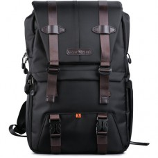 K&F Concept KF13.092 Multifunctional Waterproof Large Camera Backpack Black