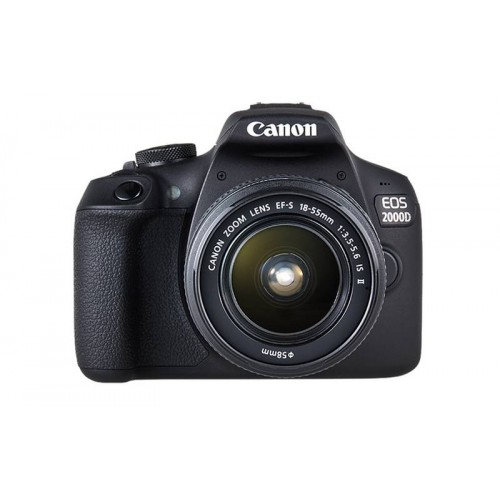 Canon 2000D DSLR Camera With 18-55mm Kit Lens