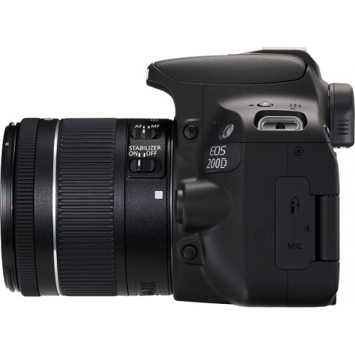 Canon Eos 200D 24 2 MP DSLR Camera With 18-55mm Lens