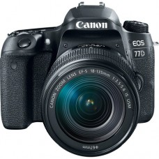 Canon EOS 77D 24.2 MP,Wi-Fi With 18-135MM IS USM Lens DSLR Camera