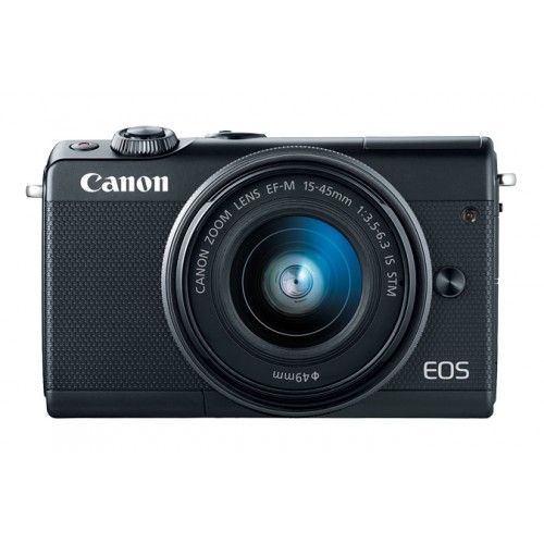 Canon EOS M100 24.1 MP with 15-45 mm IS STM Lens Mirrorless Digital Camera
