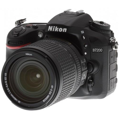 Nikon D7200 DSLR 24.1 MP Wi-Fi With 18-55mm DX VR Lens
