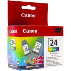 Canon BCI-24 Twin Pack (Cyan, Magenta, Yellow) Cartridge