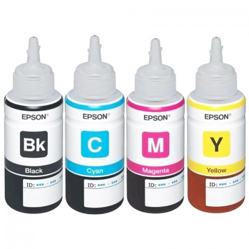 EPSON Original Refill 4 Color Ink Set (T6641, T6642, T6643, T6644)