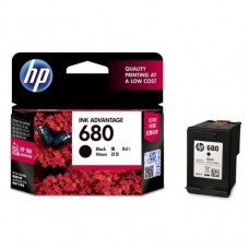 HP 680 Original Black Ink Advantage Cartridge
