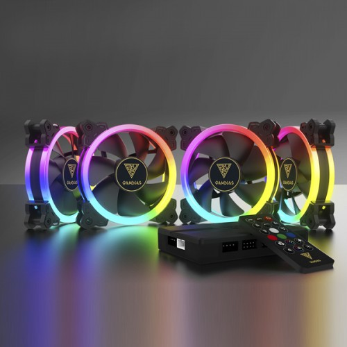 Gamdias AEOLUS M1 1204R RGB Cooling Fan
