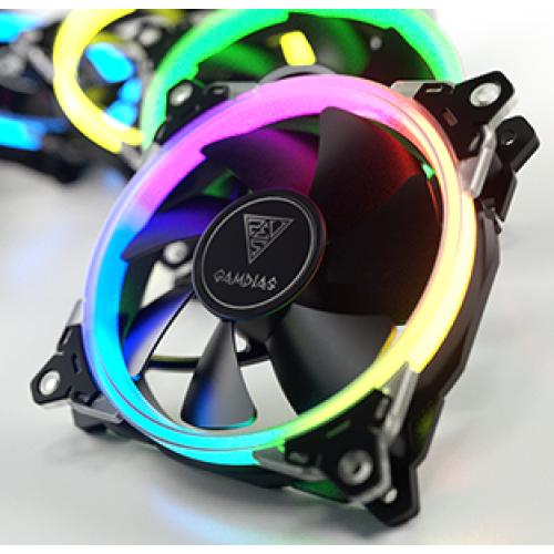 Gamdias AEOLUS M1 1201 RGB Cooling Fan