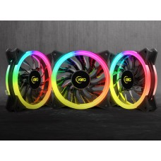 KWG GEMINI M1-1203R 3 in 1 Case & Radiator Fan