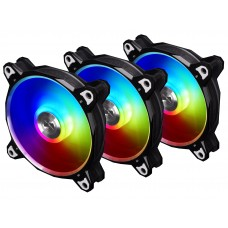 Lian Li Bora Digital 120mm RGB Cooling Fan (Black)