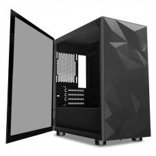 Aigo DarkFlash DLM21 Tempered Glass Micro ATX Gaming Casing