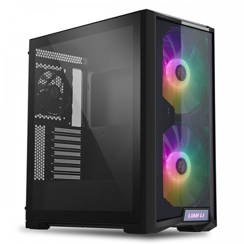 Lian Li LANCOOL 215 ARGB ATX Gaming Case (Black)