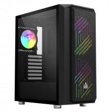 Montech AIR X ARGB Diamonded Mesh Black ATX Mid Tower Gaming Case
