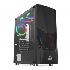 Montech Fighter 500 Black ATX Mid Tower Gaming Case