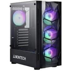 Montech X1 MESH Black ATX Mid Tower Gaming Case