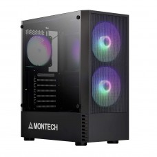 Montech X2 MESH Black Mid-Tower ATX Gaming Case