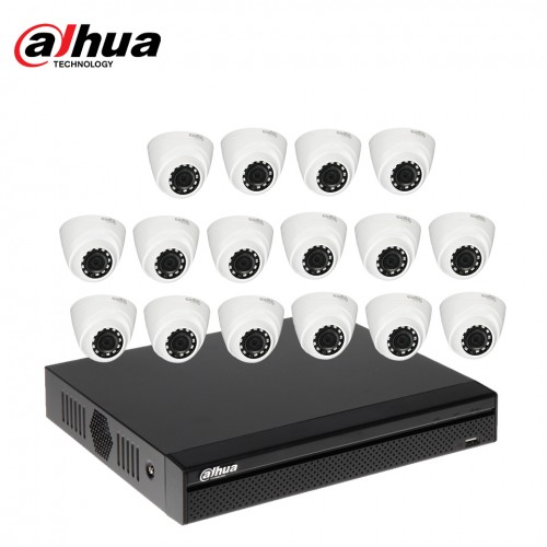 Dahua 16 unit Cc camera package
