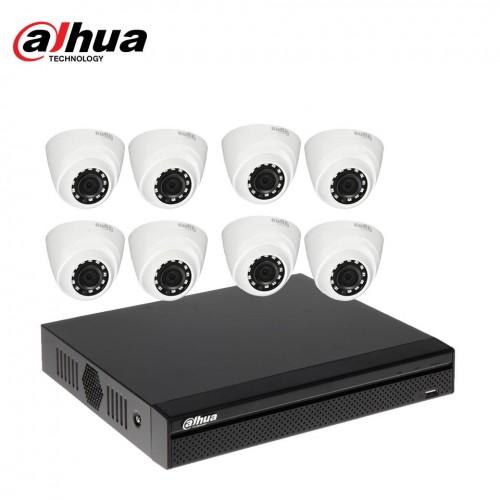 Dahua 8 unit Cc camera package