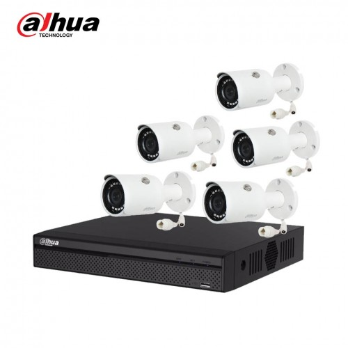 Dahua DH-IPC-HFW1230SP 5 Unit IP Camera With Package
