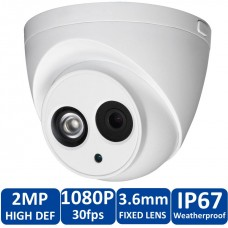 Dahua HAC-HDW-1200E 2MP Vandal-proof IR HDCVI Dome Camera