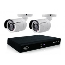 4 Channel DVR Kit with 02 CCTV Camera