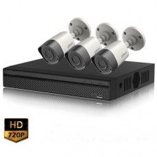 Full HD 720p 04 Channel Jovision DVR With 03 Units Full HD 720p Hikvision Camera