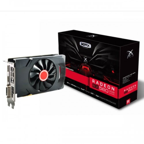 XFX AMD Radeon™ RX 560 4GB Single Fan GDDR5 Graphics Card