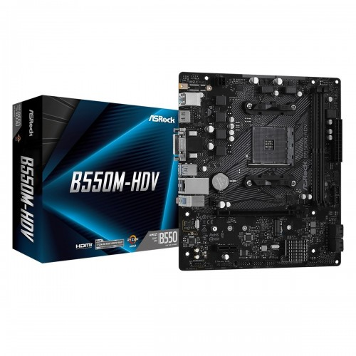 ASRock B550M-HDV DDR4 AMD Motherboard