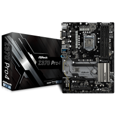 Asrock Z370 Pro4 USB 3.1 Intel 8th Gen Motherboard