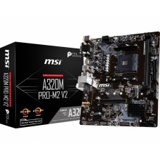 MSI A320M PRO-M2 V2 AM4 AMD Motherboard