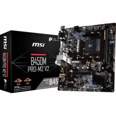 MSI B450M PRO-M2 V2 AM4 AMD ATX Motherboard