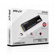 PNY CS2060 256GB M.2 2280 PCIe NVMe Gen3x2 SSD