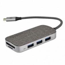 Micropack MDC-8 8 in 1 Flash Multi Port Type-C Data Converter
