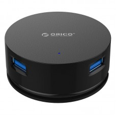 Orico LHA-U3-BK 4 Port USB 3.0 Windable HUB Black